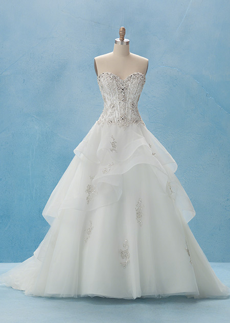 Belle Gown - Collection 2  Alfred Angelo Bridal Collection  Disneys ...
