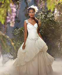 alfred angelo modern vine wedding dresses style