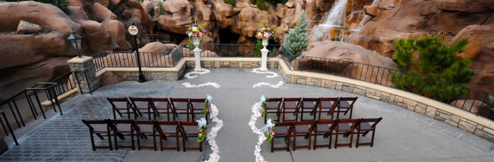 Canada courtyard at epcot florida weddings wishes for Terrace canada