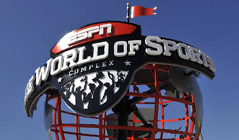 The ESPN Wide World of Sports glo